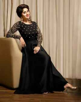 PRESENTING NEW DESIGNER  EMBROIDERED GOWN FOR WOMEN PARTYWEAR