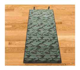 PRINTED YOGA MAT HEAVY MATERIAL FINE QUALITY 8MM