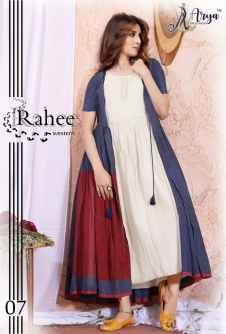 RAHEE WESTERN KURTI WITH WHITE INNER