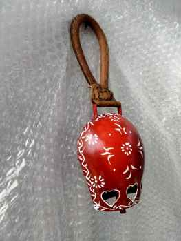 Hand Painted Iron Cow bell 6 Inches