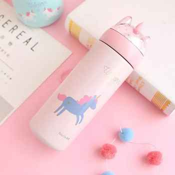 350ML Unicorn Vacuum Flasks Thermos Cup Water Bottle