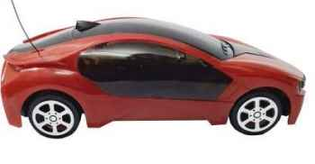 Kids Remote controlled Car, 2 way motion, with light and operated on cells