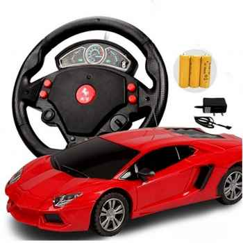 Kids remote control rechargeable battery operated sports toy car