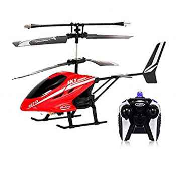 Remote Controlled 2-Channel Helicopter Flying Toy with Charger