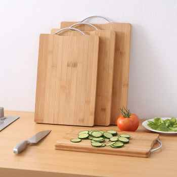 Rectangle Wooden Chopping Board - 24cm