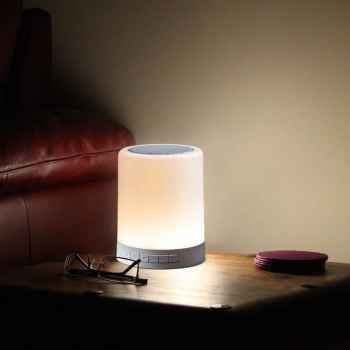 Wireless LED Touch lamp bluetooth speaker