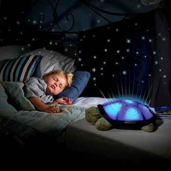 Turtle Night Sky Star Projector Table Lamp