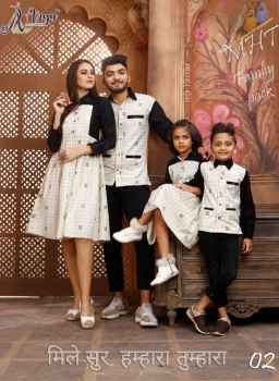 MTS FAMILY PACK 4 PCS WHITE WITH CHECKS
