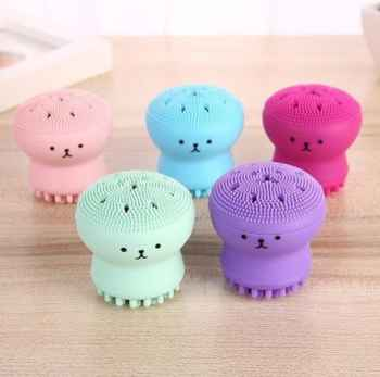 Octopus Face Wash Brush Exfoliating Facial Cleanser
