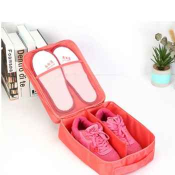 Travelling Shoe Pouch- Peach