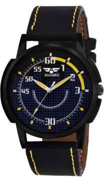 ASGARD Black Dial Watch For Men and Boys 133