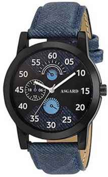 ASGARD Blue Dial Watch For Men and Boys 142