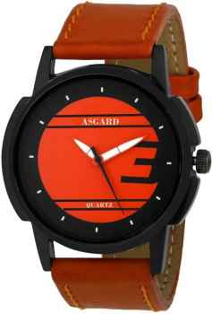 ASGARD Brown Dial Watch For Men and Boys 86