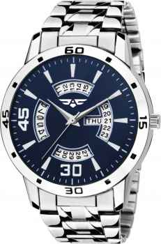 ASGARD Day and Date Feature Blue Dial Watch for Men Boys DD 4