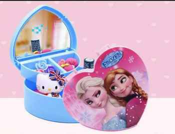 DOLLS ACCESSORIES PRINCESS SERIES EXQUISITE BABY TOYS JEWELRY BOX FOR STORAGE