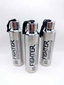 FIGHTER STAINLESS STEEL WATER BOTTLE 600 ML