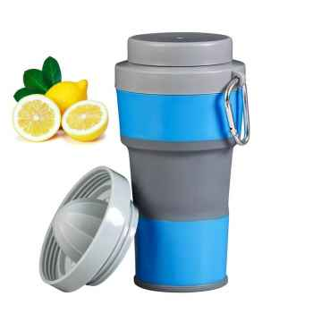 Foldable Cup with Juicer