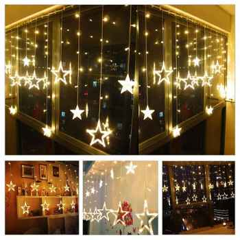 LED String Star Lights