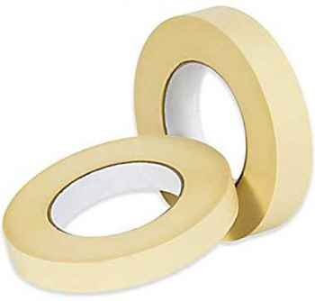 Masking Tape 1 inch  24 mm x 20 Meters Pack of 2 Multi Use Easy Tear Tape