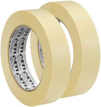 Masking Tape 1 inch  24 mm x 20 Meters Pack of 5 Multi Use Easy Tear Tape