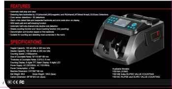 NP TECH BEST QUALITY NOTES COUNTING MACHINE TRIPLE SCREEN WITH EXCLUSIVE FEATURES