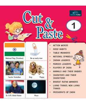 PICTURE BOOK CUT AND PASTE 1 ENGLISH