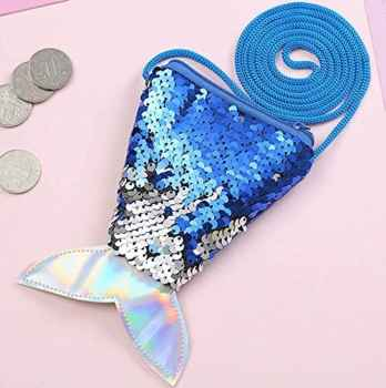 SEQUENCE FISH DESIGN MONEY POUCH