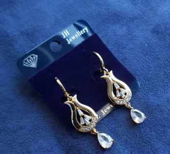 STAINLESS STEEL AND BRASS MATERIAL ALLOW LONG LASTING EAR RINGS UNIQUE