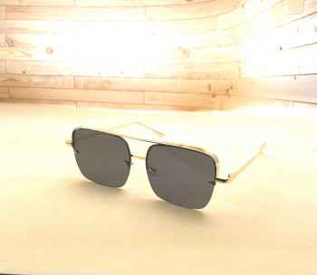 Stylish Latest designs UV protective best quality Sunglasses for Men Black with square