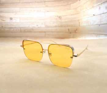 Stylish Latest designs UV protective best quality Sunglasses for Men L yellow