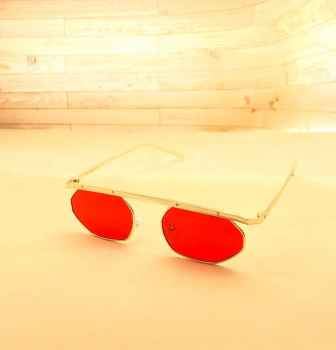 Stylish Latest designs UV protective best quality Sunglasses for Men Red