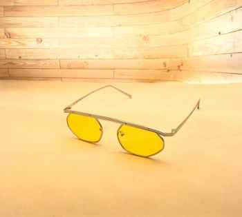 Stylish Latest designs UV protective best quality Sunglasses for Men Yellow