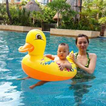 Swimming Duck Boat for kids