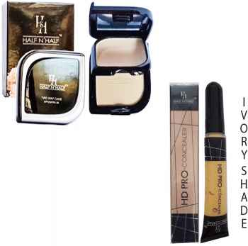 TWO WAY COMPACT POWDER and PANCAKE SPF 20 and 1HD PRO CONCEALER IVORY SHADE 4